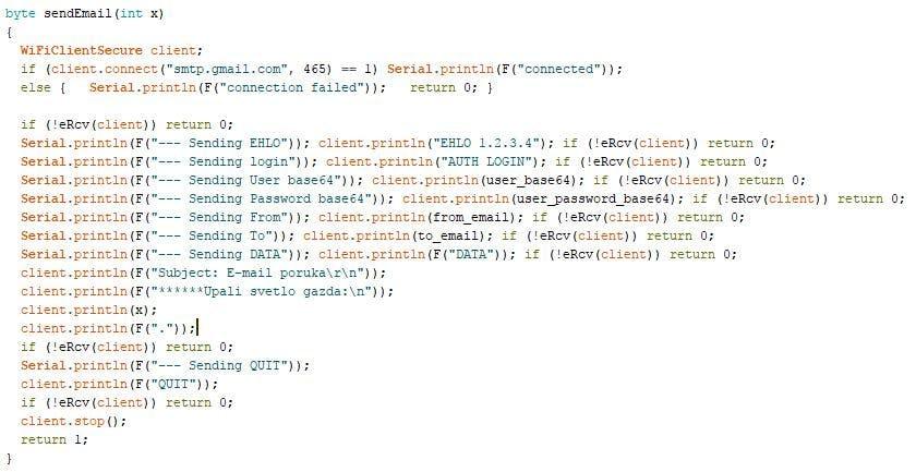 Send e-mail - NodeMCU with Mikroelektronika Clicks - Hackster io