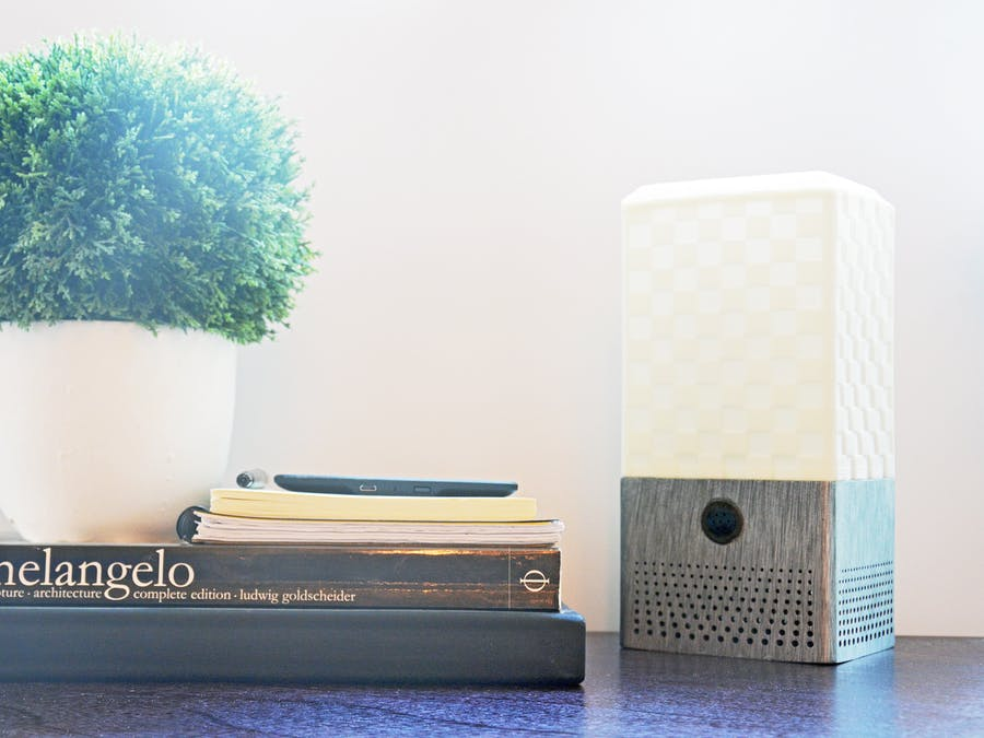 DIY Smart Assistant Speaker/Lamp (Google Home or Alexa)