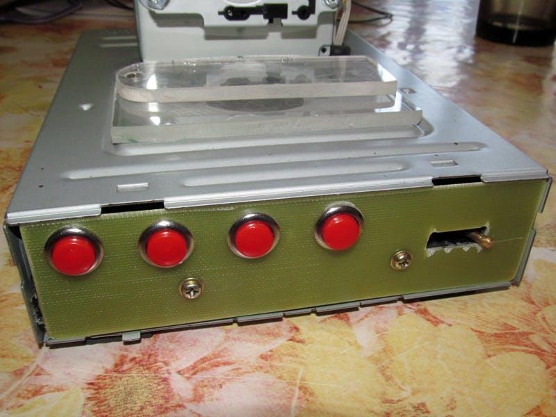 Command panel