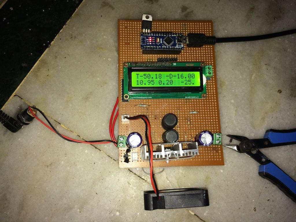 arduino pv mppt solar charger hackster ioarduino pv mppt solar charger
