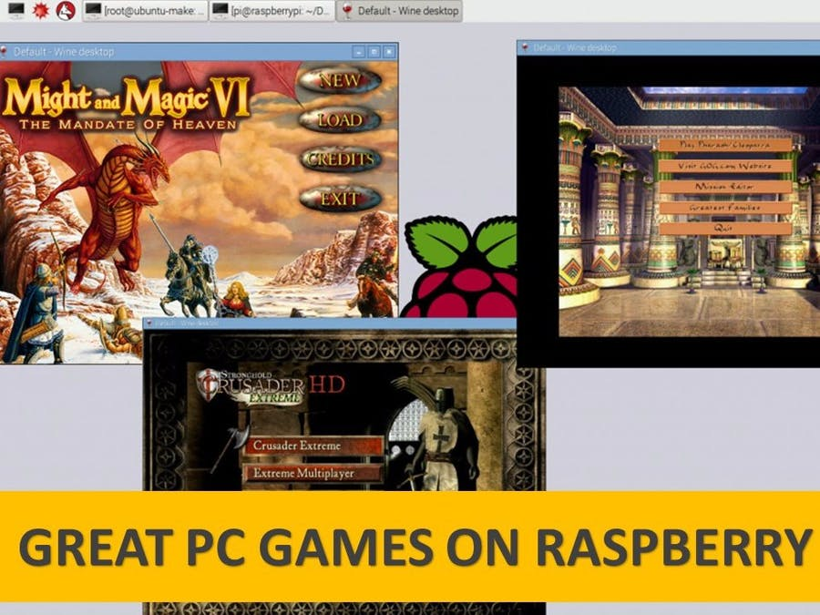 Raspberry Pi and any ARM devices Gaming Emulator