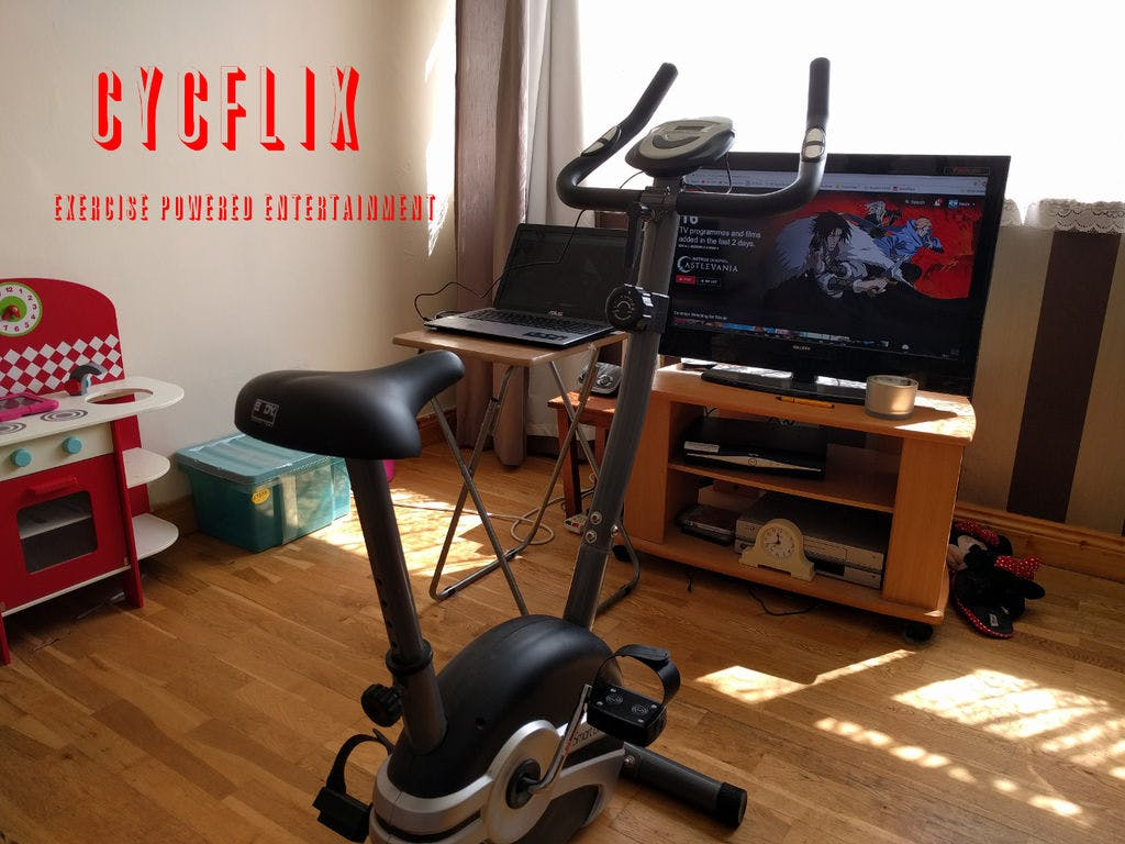 Cycflix: Exercise Powered Entertainment