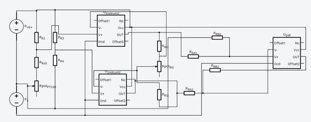 measuring temperature from pt100 using arduino