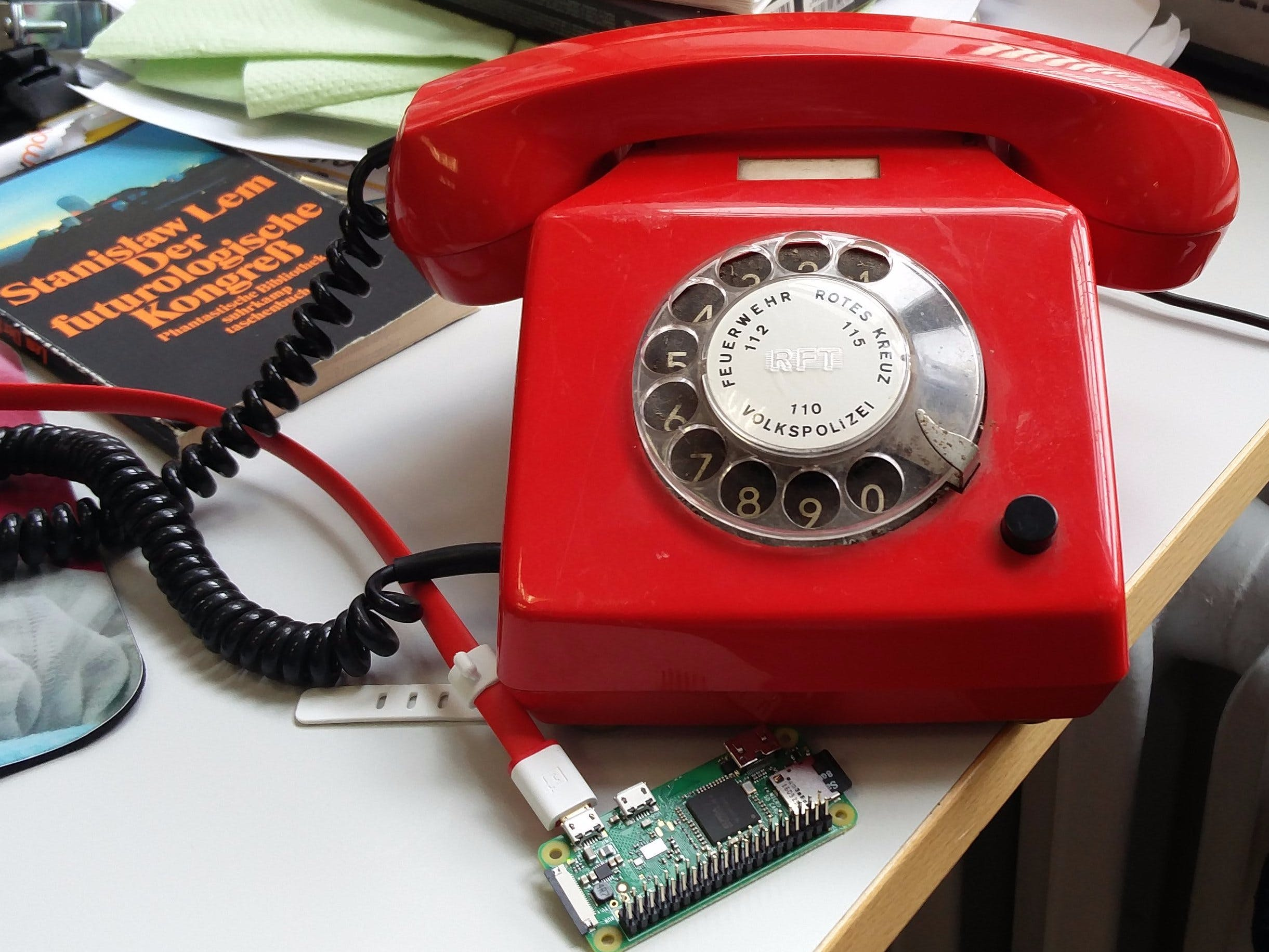 IoT Red Phone