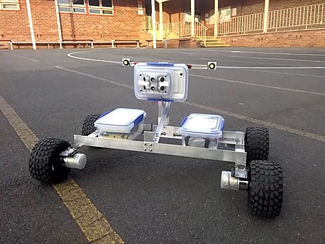 Jrobot - Android and Arduino-Based Global Control Robot Car