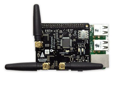 IoT Bit 4G & LTE HAT for the Raspberry Pi