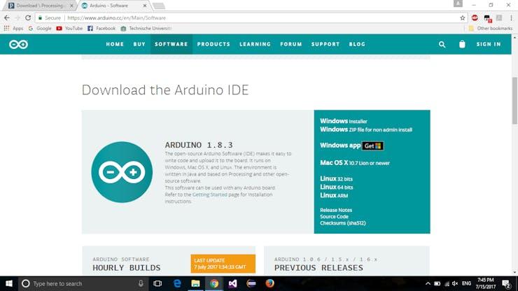 Control Arduino Using GUI (Arduino + Processing) - Hackster io