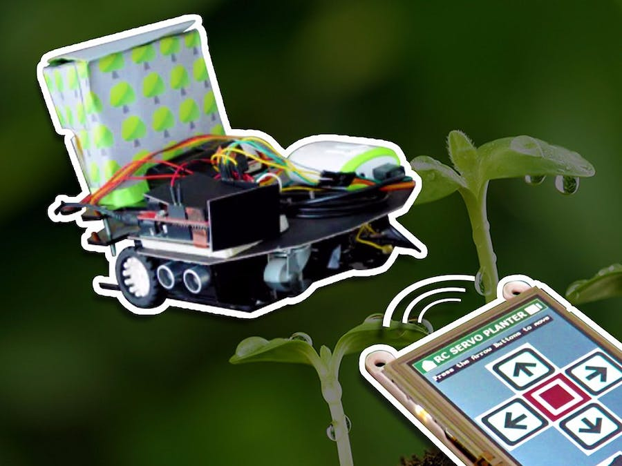 RC Servo Planter