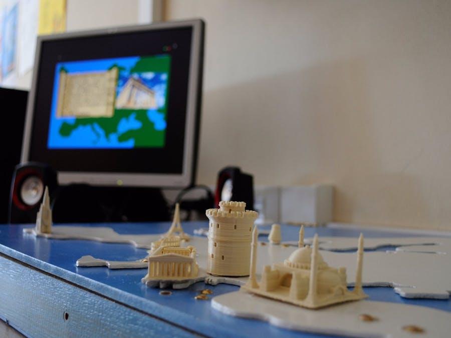 Interactive European Monuments Board