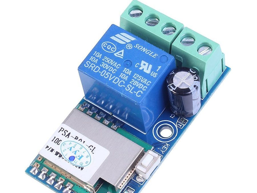 WiFi Inching Relay Delay Switch Module Low Power Smart Home