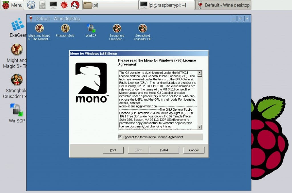 Mono on Raspberry Pi