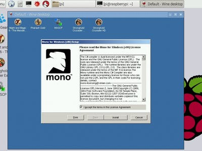 Mono on Raspberry Pi