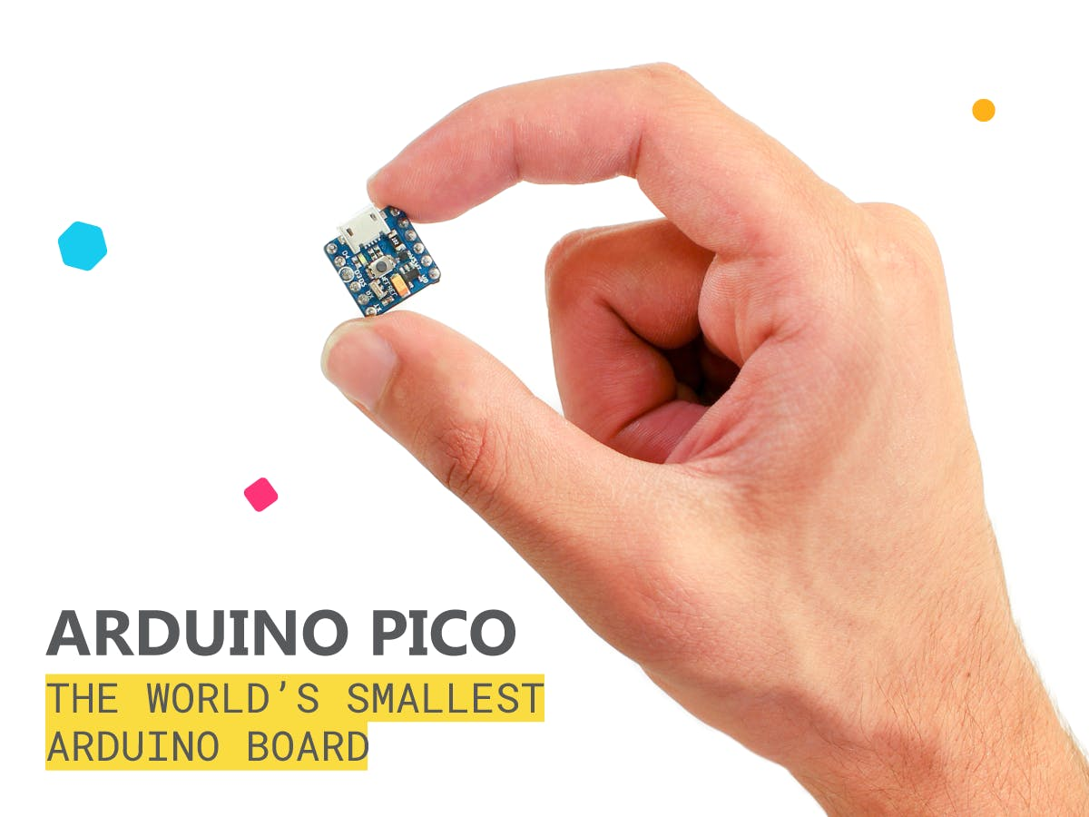 Arduino PICO: The World's Smallest Arduino Board