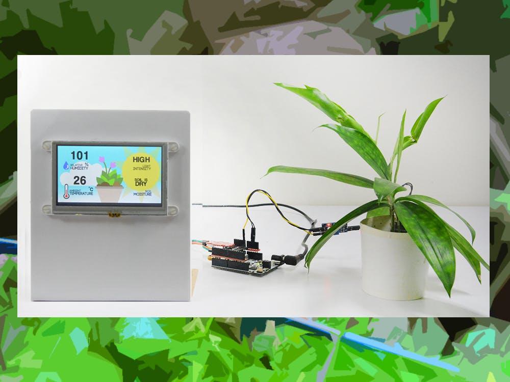 SmartEverything Plant Monitor