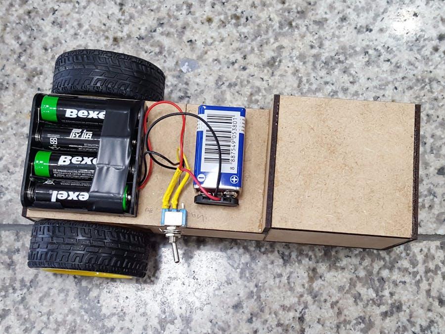 Arduino Bluetooth Control RC Car