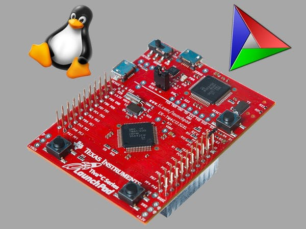 Upload Code To TI TM4C123 Using Linux, CMake And lm4tools