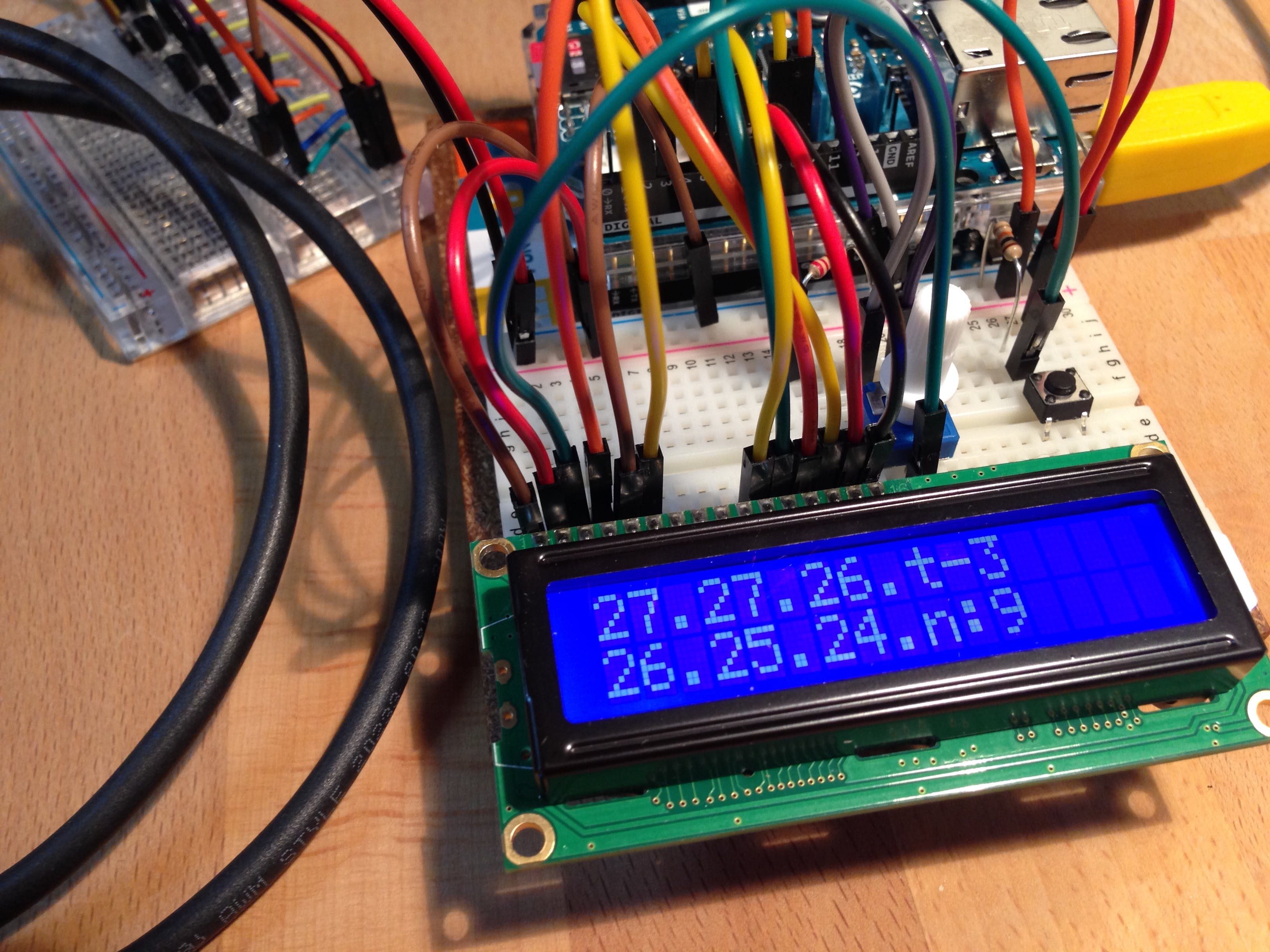 6 Channel Analog Temperature Logger
