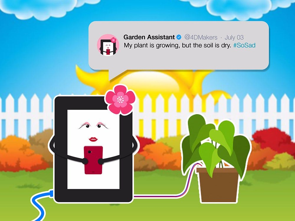 Tweeting Garden Assistant