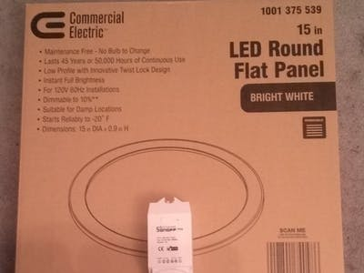 Wireless ceiling lights