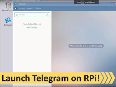 Run Telegram on Raspberry Pi or any ARM device