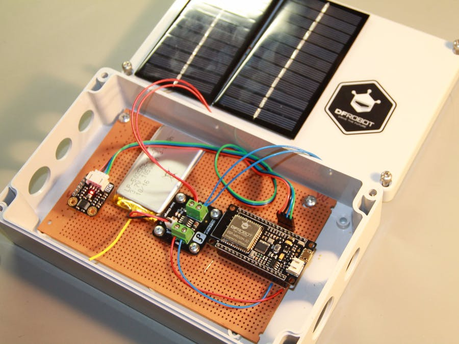 ESP32 Solar Weather Station - Hackster io