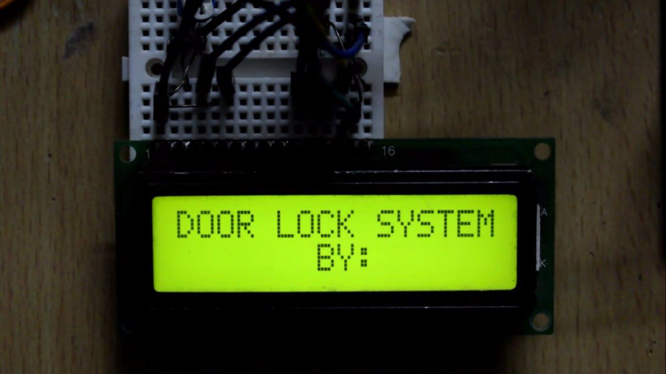 Door Lock System with Arduino