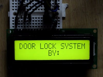 Door Lock System with Arduino