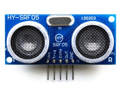 Distance Measurement with an Ultrasonic Sensor HY-SRF05