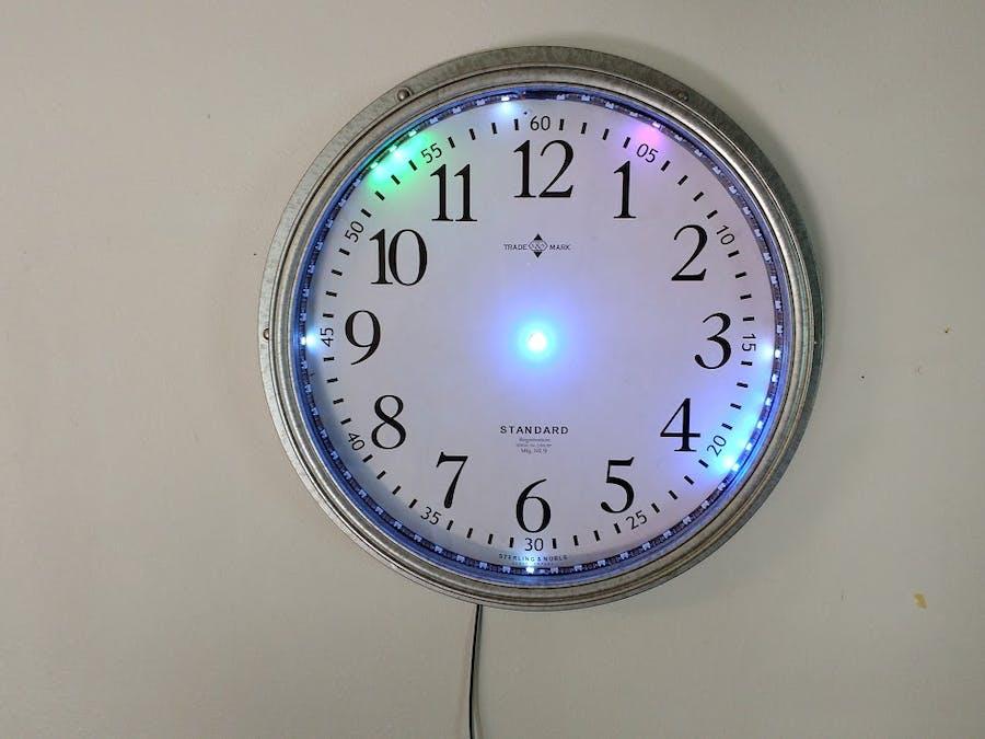 Cheap NeoPixel Strip Clock