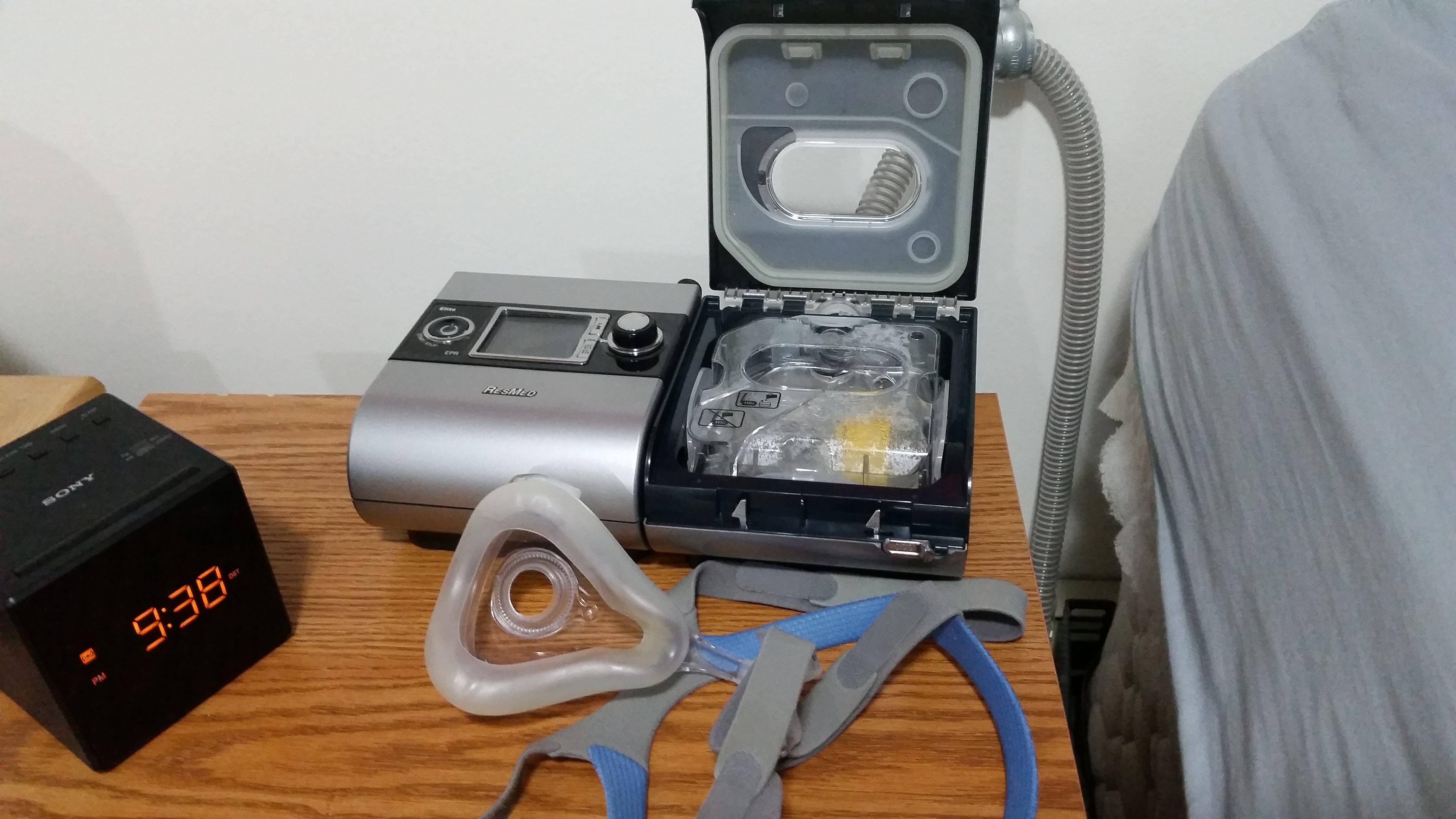 CPAP Humidifier H2O Reservoir Monitor - Sleep Apnea