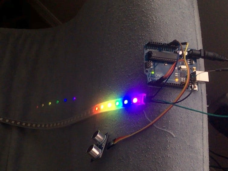 Neopixel Motion Activated Night Light