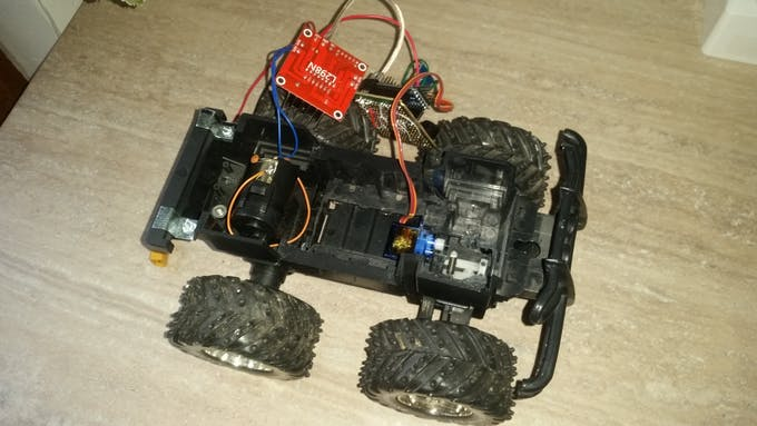 Rc car hack with android and arduino project hub