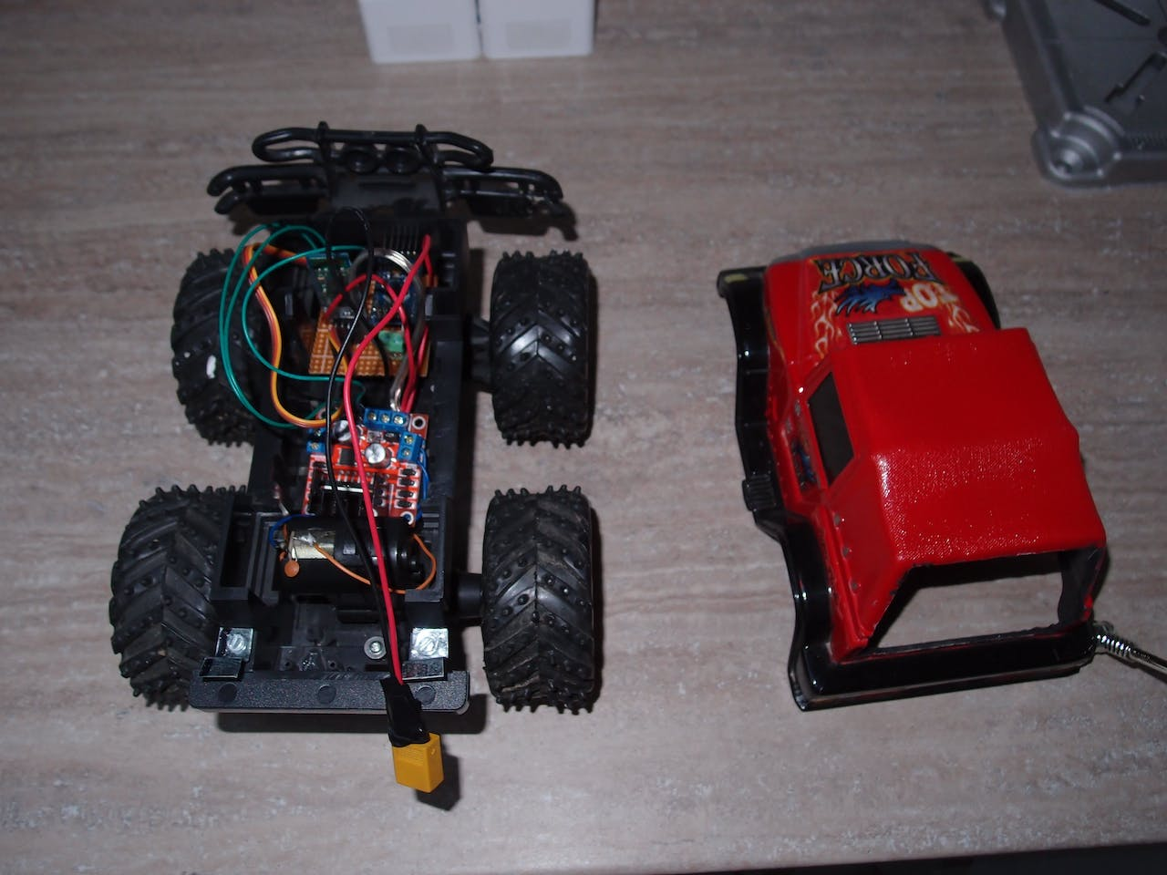 Rc Car Hack With Android And Arduino Gas Wiring Diagram