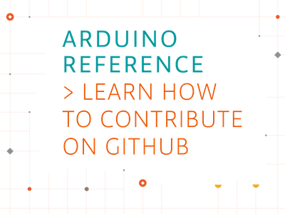 Contribute to the Arduino Reference