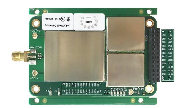 The RAK831 silk screen map to the RAK831 pins.