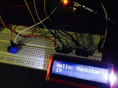 Controlling 16x2 Character Display with Arduino