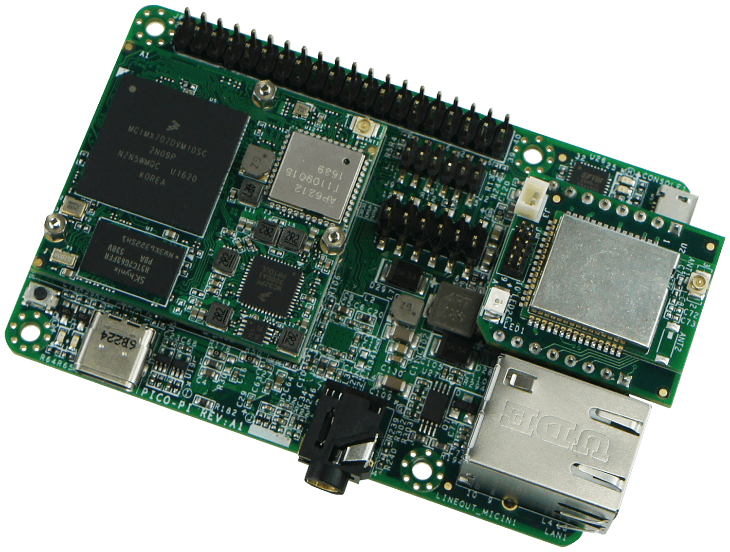 Pico i.MX6UL Development Platform from TechNexion