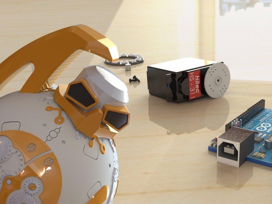 Make a BBot Robot Step by Step