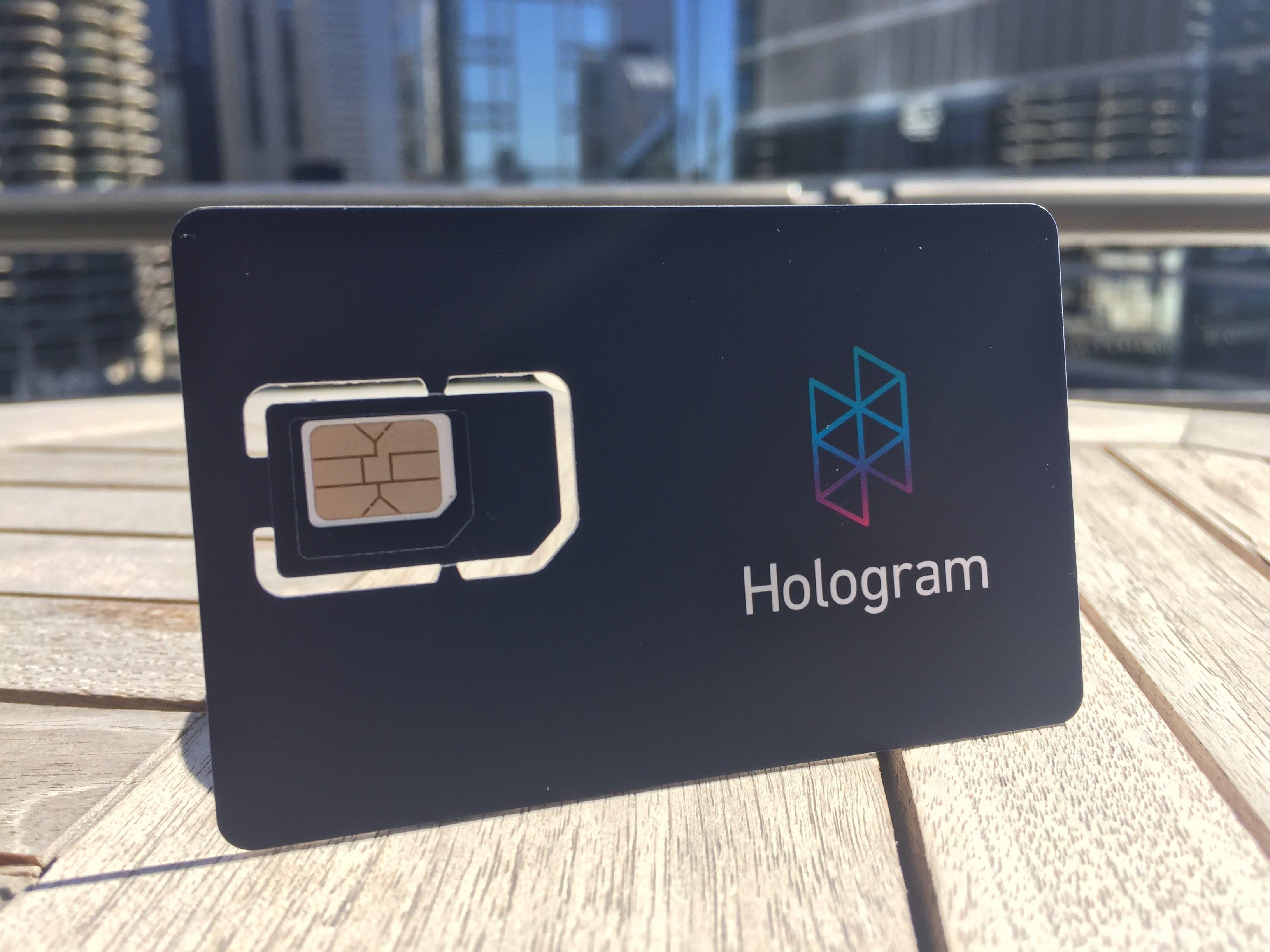 Free Developer Plan from Hologram.io