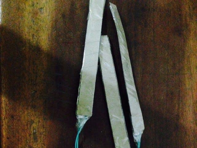 Simple Homemade Flex Sensor