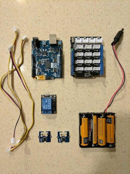 Control circuit parts