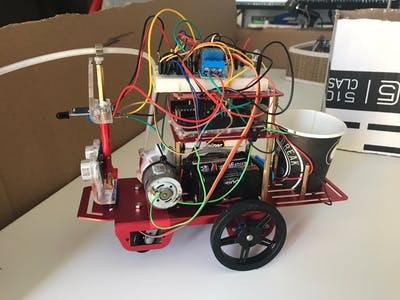 Mini Firefighter Robot