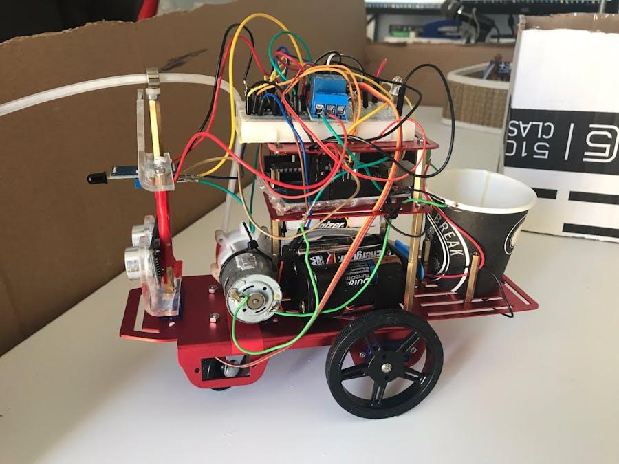 Mini Firefighter Robot