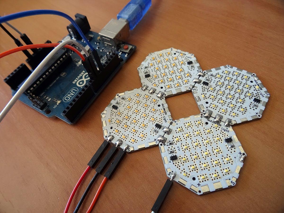 Arduino Digital Light - Octowide