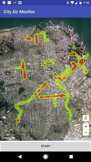 Simulated City Air Monitor