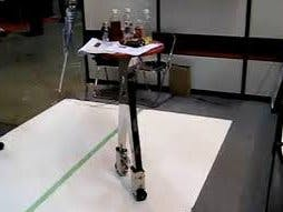 Robotic moving table