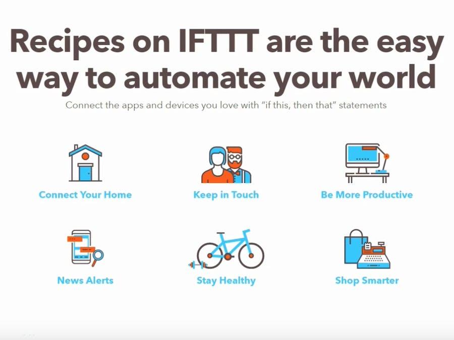 Setting IFTTT pada Bluemix