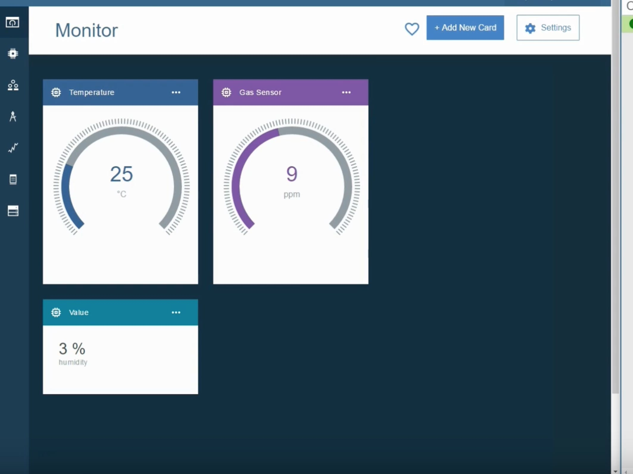 Setting Board & Card pada Bluemix