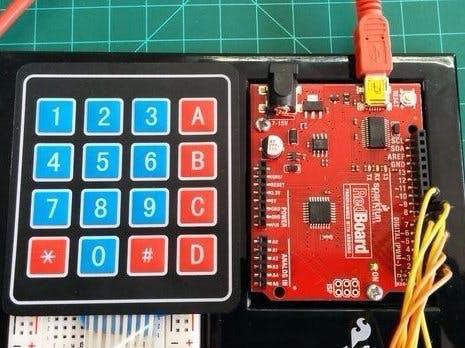 Using 4×4 Keypad With Arduino