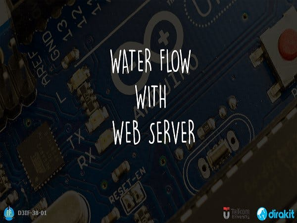 Arduino Water Flow with Web Server